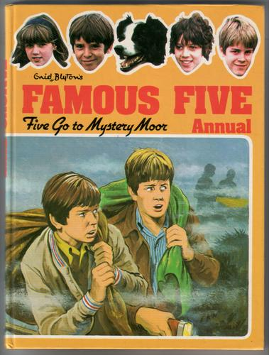 Famous Five Annual: Five Go To Mystery Moor by Enid Blyton