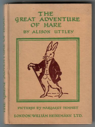 The Great Adventure of Hare by Alison Uttley