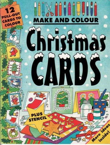 Make and Colour Cristmas Cards by Clare Beaton
