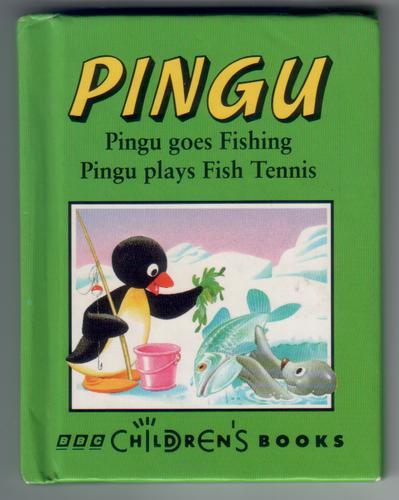 Pingu goes fishing and pingu plays fish tennis children for Children s fish book