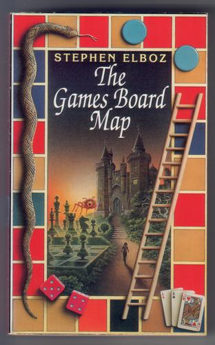 The Games Board Map by Stephen Elboz
