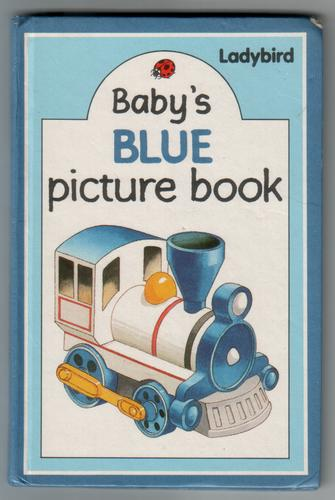 Baby's Blue Picture Book