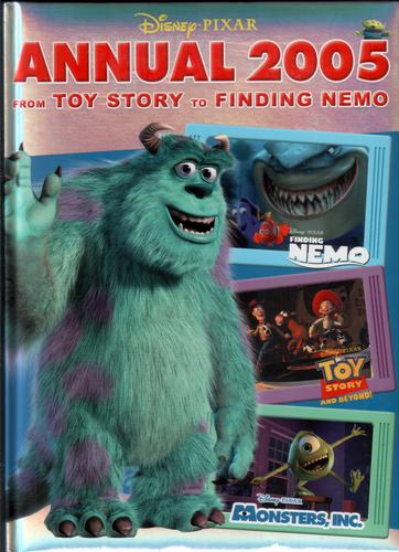Disney Pixar Annual 2005 from Toy Story to Finding Nemo