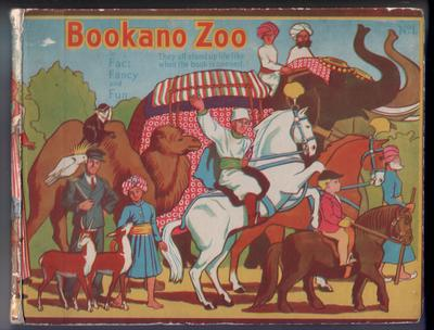 Bookano Zoo No. 1 by S. Louis Giraud