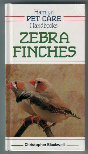 Zebra Finches by Christopher Blackwell