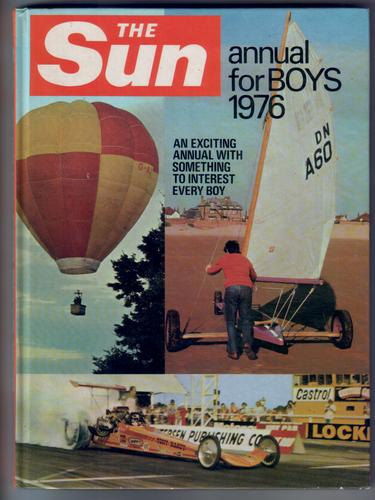 The Sun Annual for Boys 1976