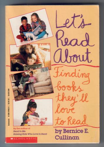Let's read about... Finding books they'll love to read