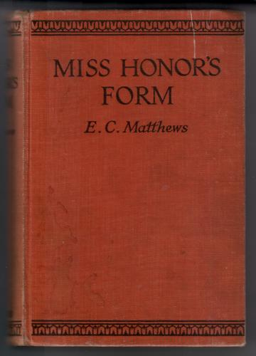 Miss Honor's Form