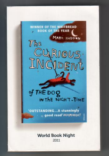 HADDON, MARK - The Curious Incident of the Dog in the Night Time