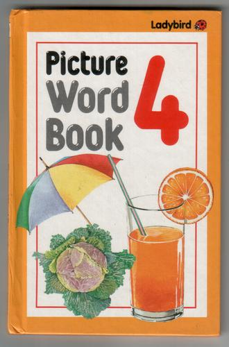 Picture Word Book 4