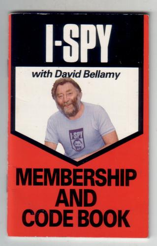 I-Spy Membership and Code Book