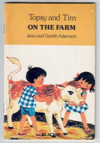Topsy and Tim on the Farm by Jean Adamson and Gareth Adamson
