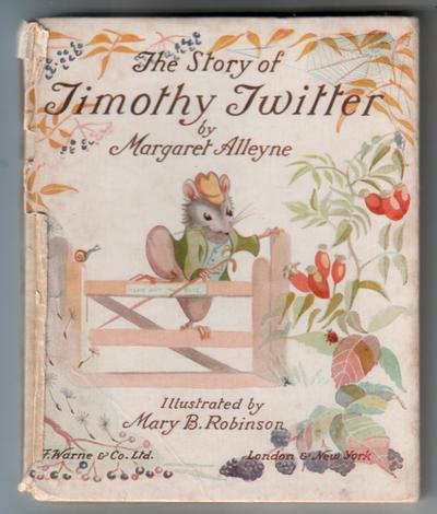 The Story of Timothy Twitter by Margaret Alleyne