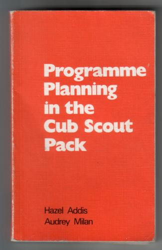 Programme Planning in the Cub Scout Pack