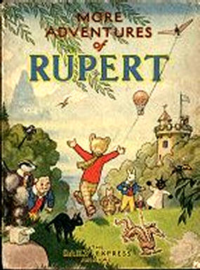 Cover of the 1947 Rupert Annual