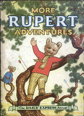 Cover of the 1952 Rupert Annual