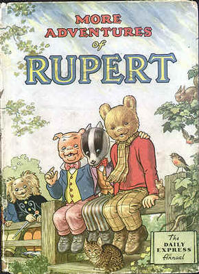 Cover of the 1953 Rupert Annual