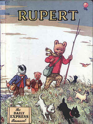 Cover of the 1955 Rupert Annual